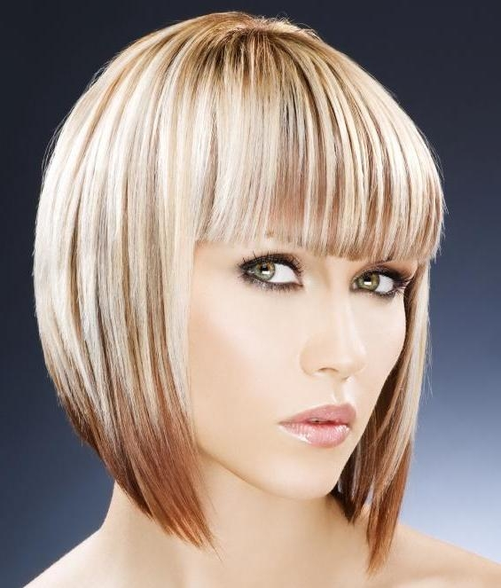 Widely Used Graduated Inverted Bob Hairstyles With Fringe Within Long Graduated Bob Hairstyles With Fringe Different – Wodip (View 15 of 15)