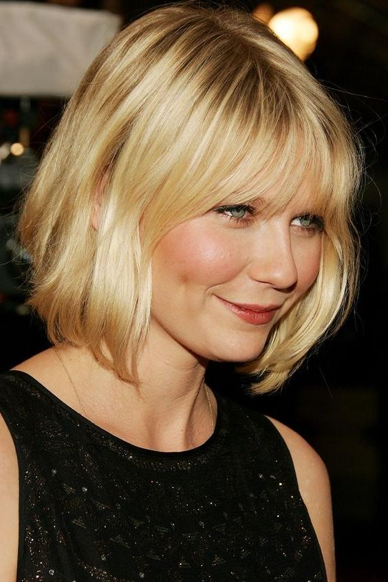 Widely Used Kirsten Dunst Bob Hairstyles Intended For 100+ Hottest Short Hairstyles & Haircuts For Women (View 14 of 15)