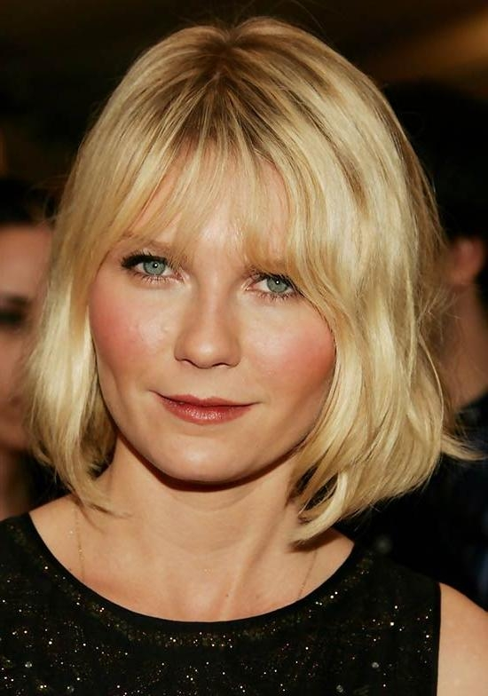 Widely Used Kirsten Dunst Bob Hairstyles Throughout Top 20 Kirsten Dunst Hairstyles & Haircuts – That Will Inspire You ! (View 1 of 15)
