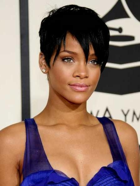rihanna different hair styles 15 collection of rihanna bob hairstyles with weave 6948