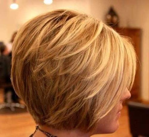 Widely Used Short Layered Bob Haircuts Regarding Best 25+ Layered Bob Short Ideas On Pinterest (View 15 of 15)