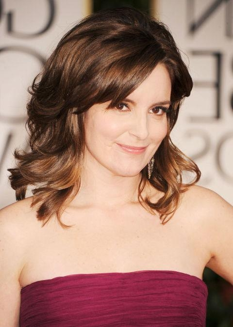 12 Best Hairstyles For Women Over 40 – Celeb Haircut Ideas Over 40 Inside Preferred Tina Fey Shoulder Length Bob Hairstyles (View 1 of 15)