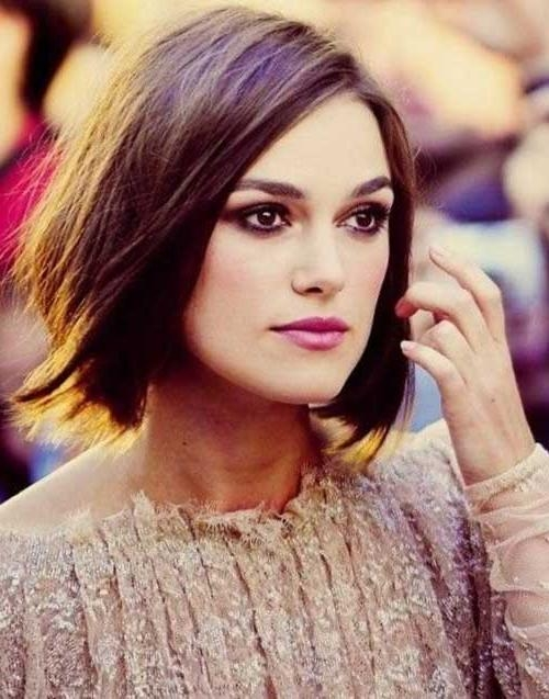 15 Keira Knightley Bob Haircuts (View 9 of 15)