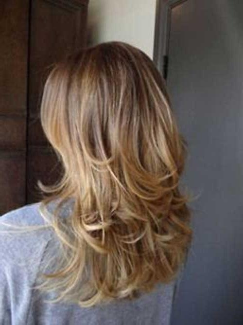 15+ Layered Haircuts For Girls | Long Hairstyles 2016 – 2017 With Layered Long Hairstyles Back View (View 3 of 15)