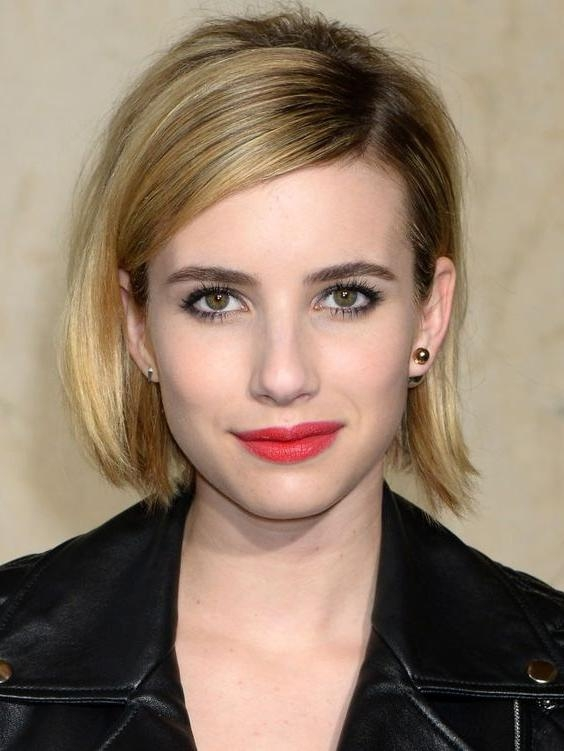 17 Fashionable Celebrity Bob Haircuts To Copy – Celebrity Latest With Most Current Celebrity Bob Haircuts (View 1 of 15)