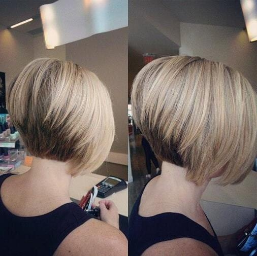 20 Flawless Short Stacked Bobs To Steal The Focus Instantly Intended For Trendy Short Stacked Bob Haircuts With Bangs (View 1 of 15)