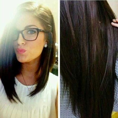 20 Long Bob Dark Hair | Bob Hairstyles 2015 – Short Hairstyles For With Regard To Bob Long Hairstyles (View 2 of 15)