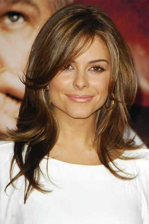 15 Best of Long Hairstyles With Side Swept Bangs And Layers