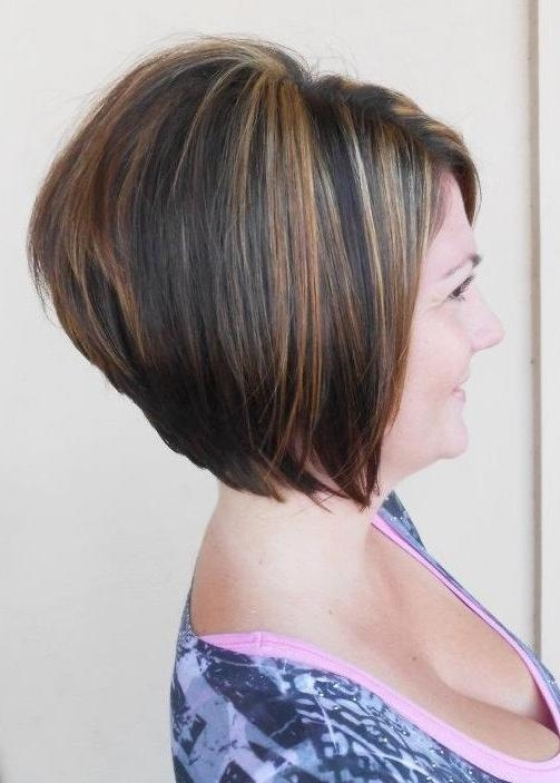 2014 Short Stacked Bob Haircut For Women Over 40 – Popular Haircuts Within Famous Short Stacked Bob Hairstyles (View 3 of 15)