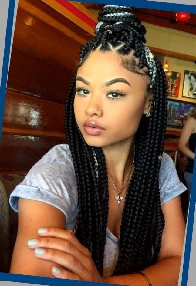 2017 Black American Long Hairstyles With Regard To Best 25+ African American Hairstyles Ideas On Pinterest | African (View 10 of 15)