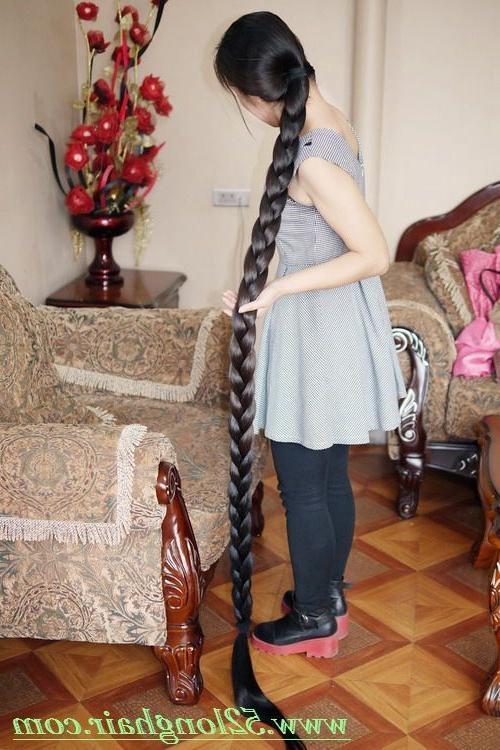 2017 Chinese Long Haircuts In 331 Best Long Braid Images On Pinterest | Long Braids, Longer Hair (View 1 of 15)