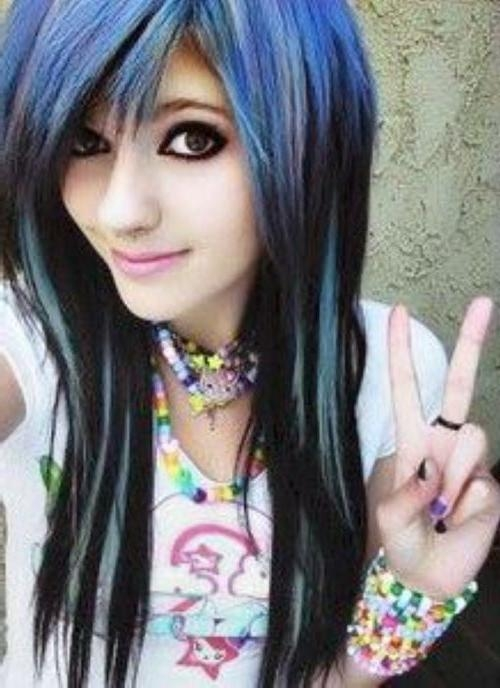 2017 Emo Long Hairstyles Intended For 67 Emo Hairstyles For Girls: I Bet You Haven't Seen Before (View 8 of 15)