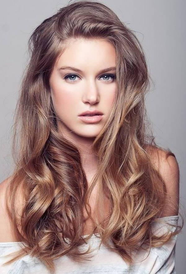 2017 Long Hairstyle For Round Face Women With Hairstyle Ideas For Long Hair Round Face – Trendy Hairstyles In (View 1 of 15)