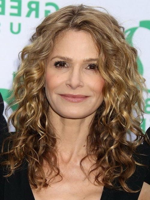2017 Long Hairstyles For Mature Women In 9 Best Curly Long Hairstyles Variations Images On Pinterest (View 1 of 15)