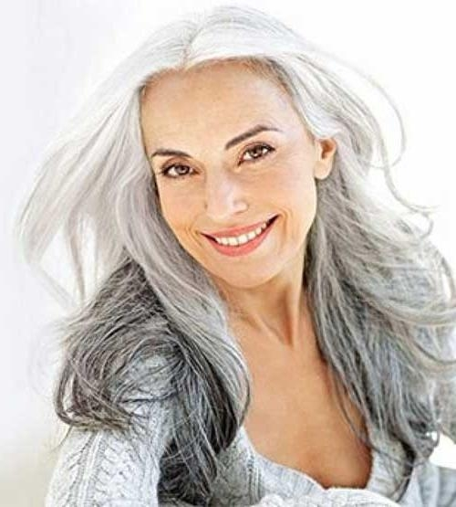2017 Long Hairstyles For Mature Women Inside 27 Long Hairstyles For Older Women | Long Hairstyles 2016 – (View 6 of 15)