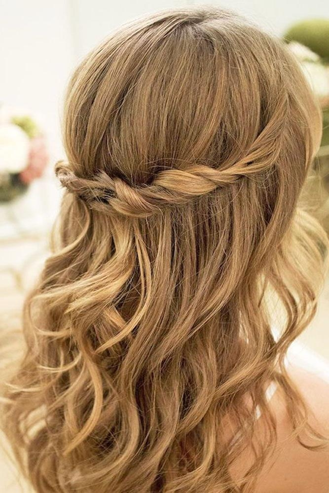 2017 Long Hairstyles For Wedding Party For The 25+ Best Wedding Guest Hairstyles Ideas On Pinterest | Wedding (View 1 of 15)