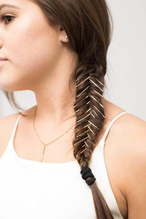 style hair with bobby pins 15 best collection of hairstyles with bobby pins 6361