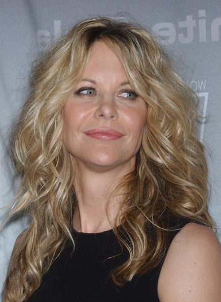 2017 Meg Ryan Long Hairstyles Regarding Meg Ryan Long Hairstyles Looks – Stylebistro (View 2 of 15)