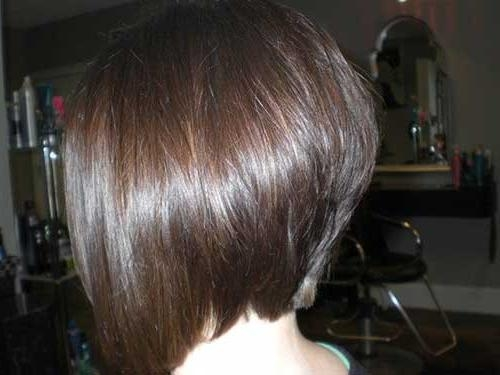 2017 Short Stacked Bob Hairstyles Intended For 35 Short Stacked Bob Hairstyles (View 4 of 15)