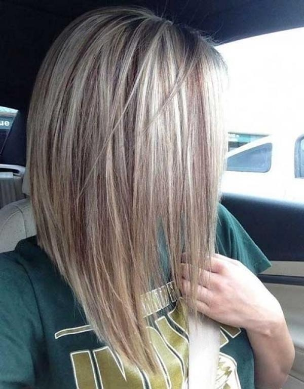 2017 Stacked Long Haircuts In Long Stacked Bob Haircut Pictures Suitable For For Anyone Who Is (View 2 of 15)