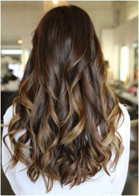 2018 Long Haircuts From The Back In Long, Curls Hairstyles Back View: Trendy Haircuts – Popular Haircuts (View 2 of 15)
