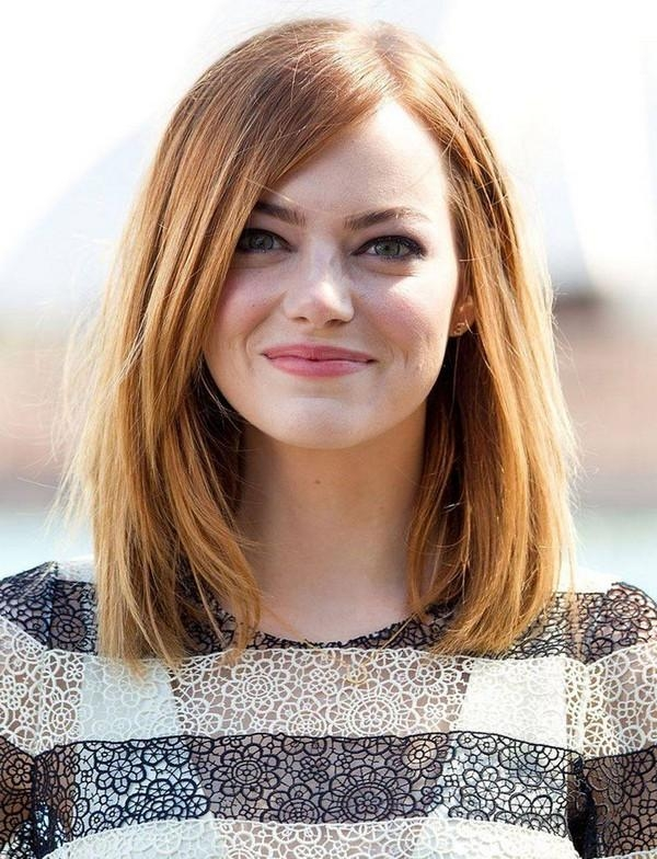 2018 Long Hairstyles With Bangs And Layers For Round Faces Pertaining To 111 Best Layered Haircuts For All Hair Types [2018] – Beautified (View 11 of 15)
