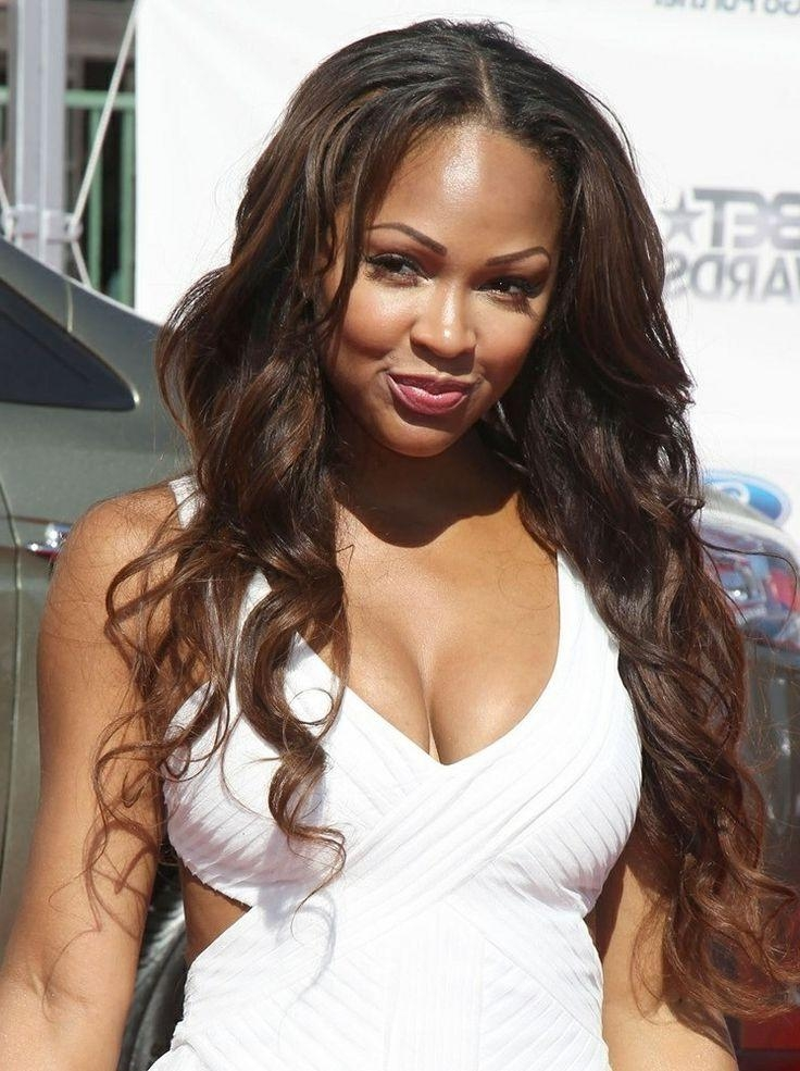 2018 Meagan Good Long Hairstyles With 110 Best Meagan Good Images On Pinterest | Hair Makeup, Megan Good (View 3 of 15)
