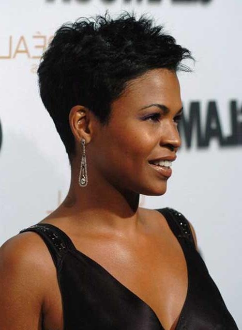2018 Nia Long Hairstyles With Regard To 15+ Nia Long Pixie Cuts | Hairstyles & Haircuts 2016 –  (View 4 of 15)