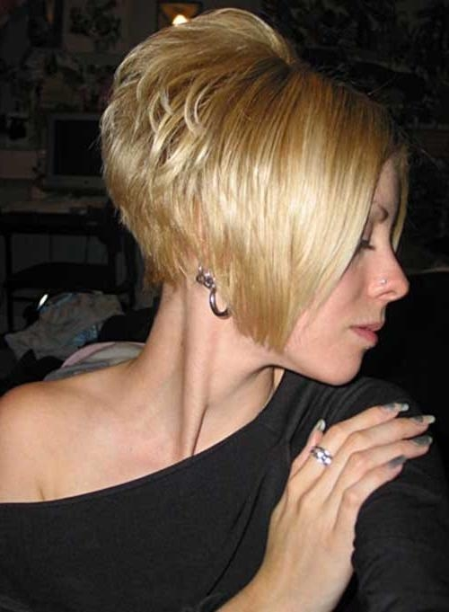 2018 Short Stacked Bob Hairstyles Throughout 35 Short Stacked Bob Hairstyles (View 5 of 15)
