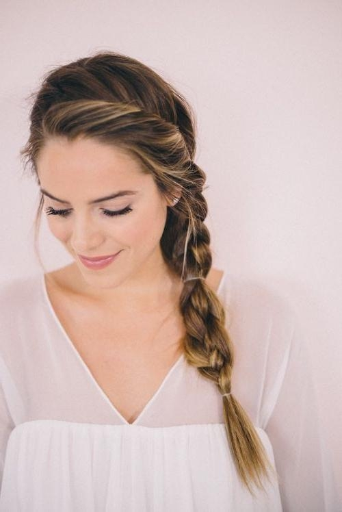 2018 Side Long Hairstyles With Regard To 10 Cute Braided Hairstyle Ideas: Stylish Long Hairstyles  (View 3 of 15)