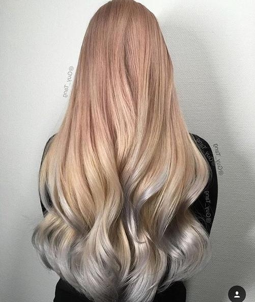 2018 Two Tone Long Hairstyles Throughout Two Tone Hairstyles With Long Hair (View 3 of 15)