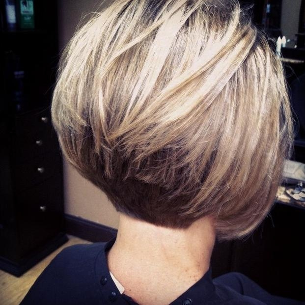 21 Gorgeous Stacked Bob Hairstyles – Popular Haircuts Inside Most Up To Date Short Stacked Bob Haircuts With Bangs (View 2 of 15)