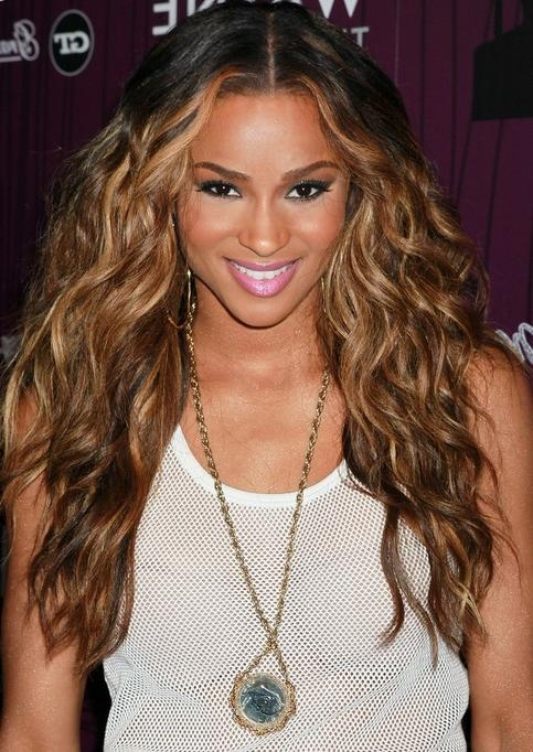 22 Ciara Hairstyles Ciara Hair Pictures – Pretty Designs Regarding Ciara Long Hairstyles (View 1 of 15)