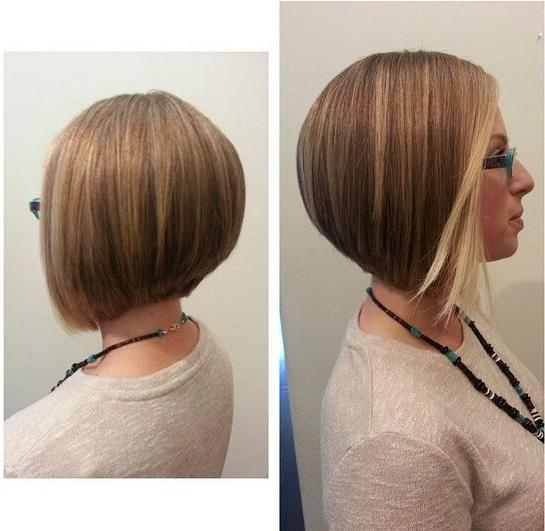 22 Popular Bob Haircuts For Short Hair – Pretty Designs In Favorite Inverted Bob Haircuts For Fine Hair (View 2 of 15)