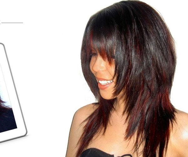 30 Drool Worthy Bob Hairstyles With Bangs – Slodive Within Famous Long Layered Bob Hairstyles With Bangs (View 2 of 15)
