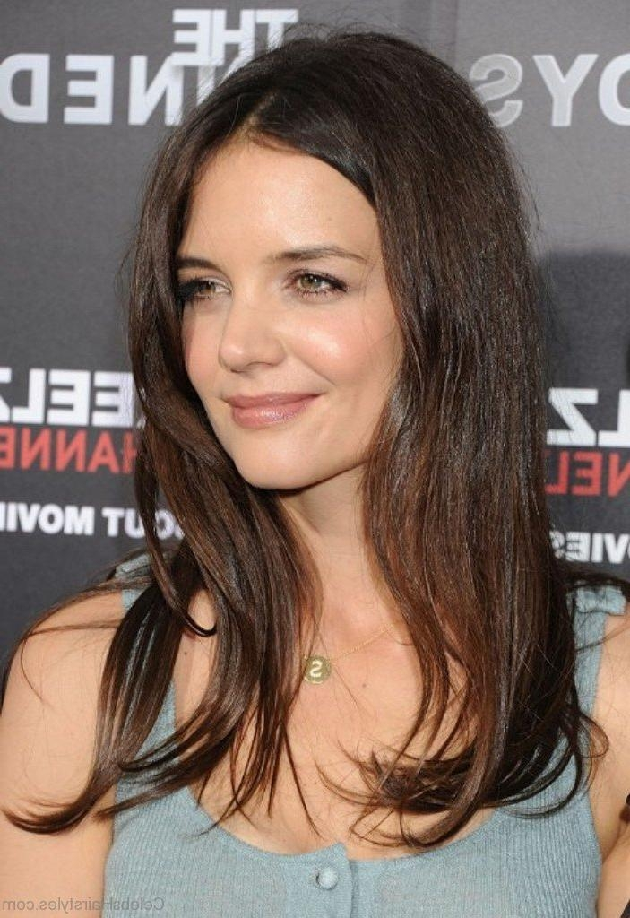 35 Nice Hairstyles Of Katie Holmes Intended For Katie Holmes Long Hairstyles (View 1 of 15)