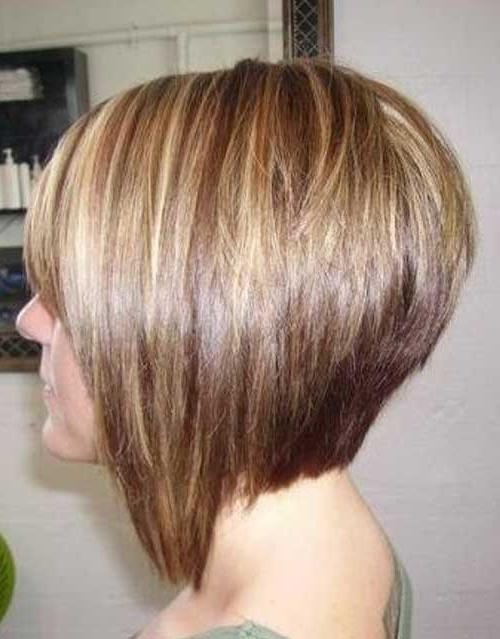 35 Short Stacked Bob Hairstyles (View 3 of 15)