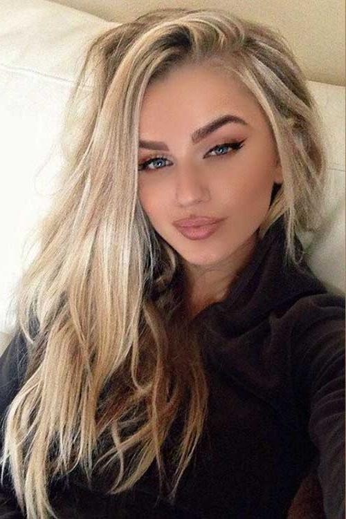 40 Best Female Hairstyles | Long Hairstyles 2017 & Long Haircuts 2017 Pertaining To Blonde Long Hairstyles (View 7 of 15)