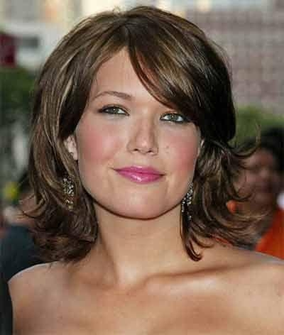 45 Best Hairstyles For Women Over 50 Images On Pinterest Regarding Long Hairstyles For Round Faces Over (View 5 of 15)