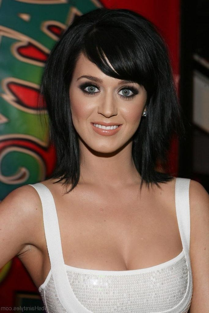 55 Perfect Hairstyles Of Katy Perry For Well Liked Katy Perry Bob Hairstyles (View 1 of 15)