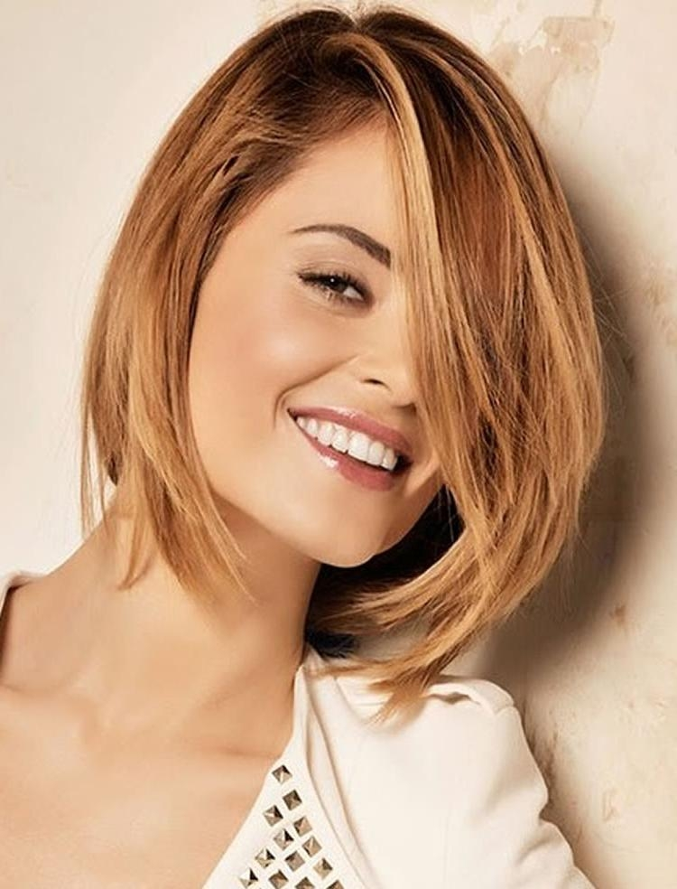 56 Viral Types Of Haircuts Inside Well Known Layered Medium Bob Hairstyles (View 2 of 15)