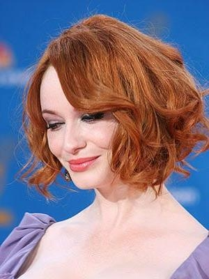 8 Best Christina Hendricks Hairstyles Images On Pinterest Pertaining To Most Recent Christina Hendricks Bob Hairstyles (Gallery 6 of 15)