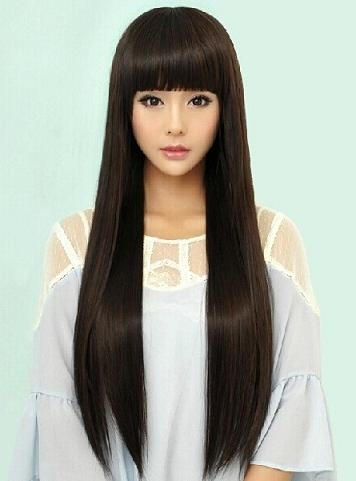 8 Best Hairstyles For Long Thick Hair | Styles At Life Intended For Chinese Long Hairstyles (Gallery 3 of 15)