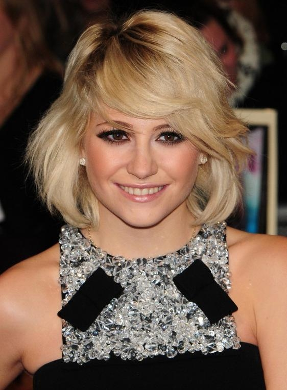 Adorable Layered Bob From Pixie Lott – Hairstyles Weekly Pertaining To Most Recently Released Pixie Lott Bob Hairstyles (View 1 of 15)