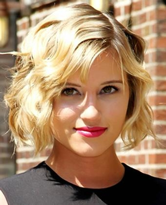 Agron Rocks New Bob Haircut Regarding Popular Dianna Agron Bob Hairstyles (View 1 of 15)