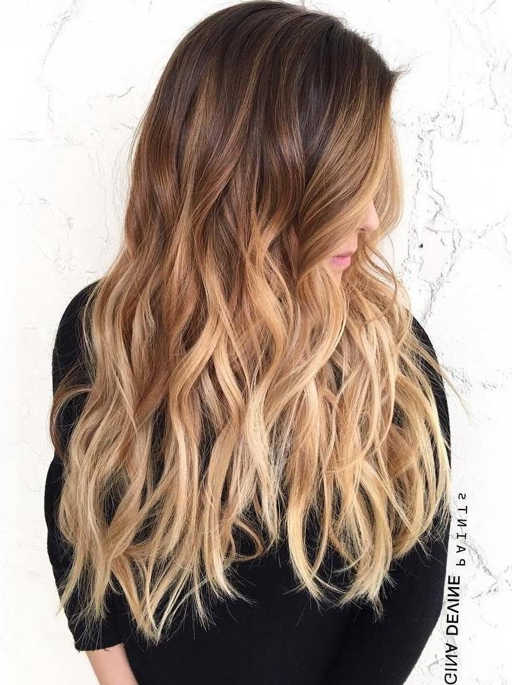 Best 25+ Blonde Ombre Ideas On Pinterest | Ombre, Blonde Bayalage Regarding Ombre Long Hairstyles (View 4 of 15)