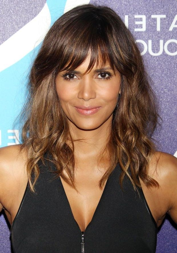 Best 25+ Halle Berry Long Hair Ideas On Pinterest | Short Sassy Within Halle Berry Long Hairstyles (View 4 of 15)