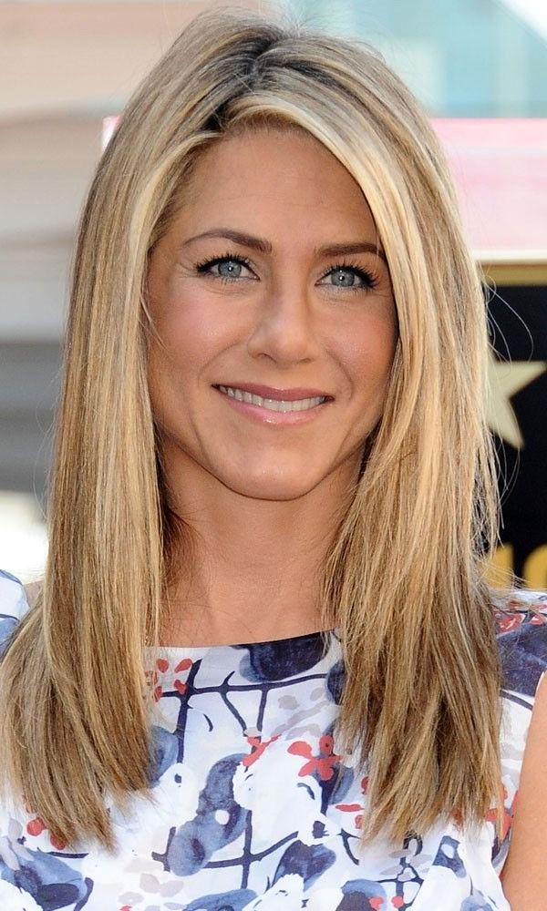 Best 25+ Jennifer Aniston Long Hair Ideas On Pinterest | Jennifer Pertaining To Jennifer Aniston Long Hairstyles (View 8 of 15)