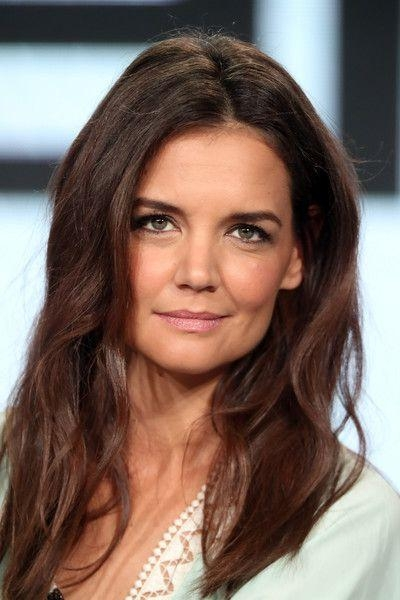Best 25+ Katie Holmes Hairstyles Ideas On Pinterest | Long Fringe In Katie Holmes Long Hairstyles (View 2 of 15)