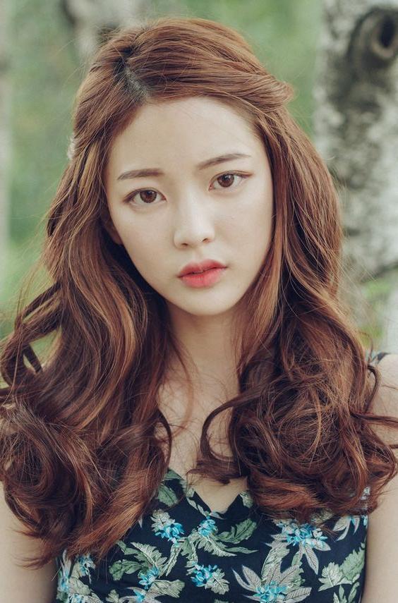 Best 25+ Korean Hairstyles Women Ideas On Pinterest | Korean Short Inside Korean Long Hairstyles (View 10 of 15)